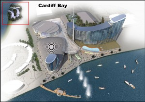 Cardiff Bay White Water Slalom Course